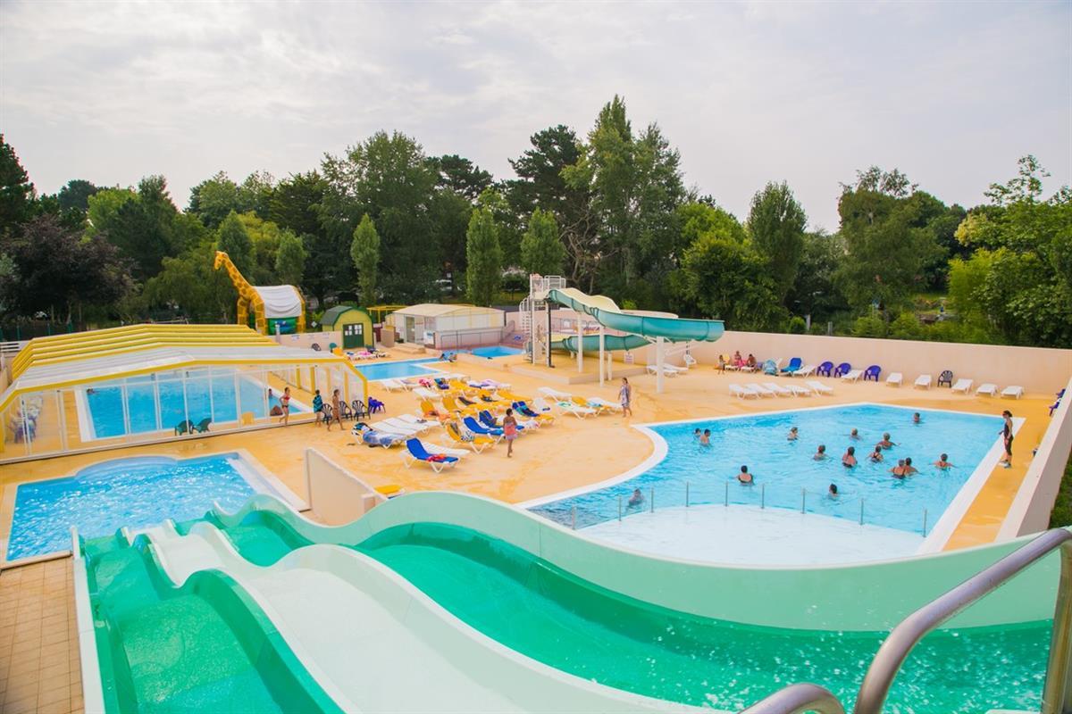 Camping espace aquatique pr s de concarneau camping - Camping benodet piscine couverte ...