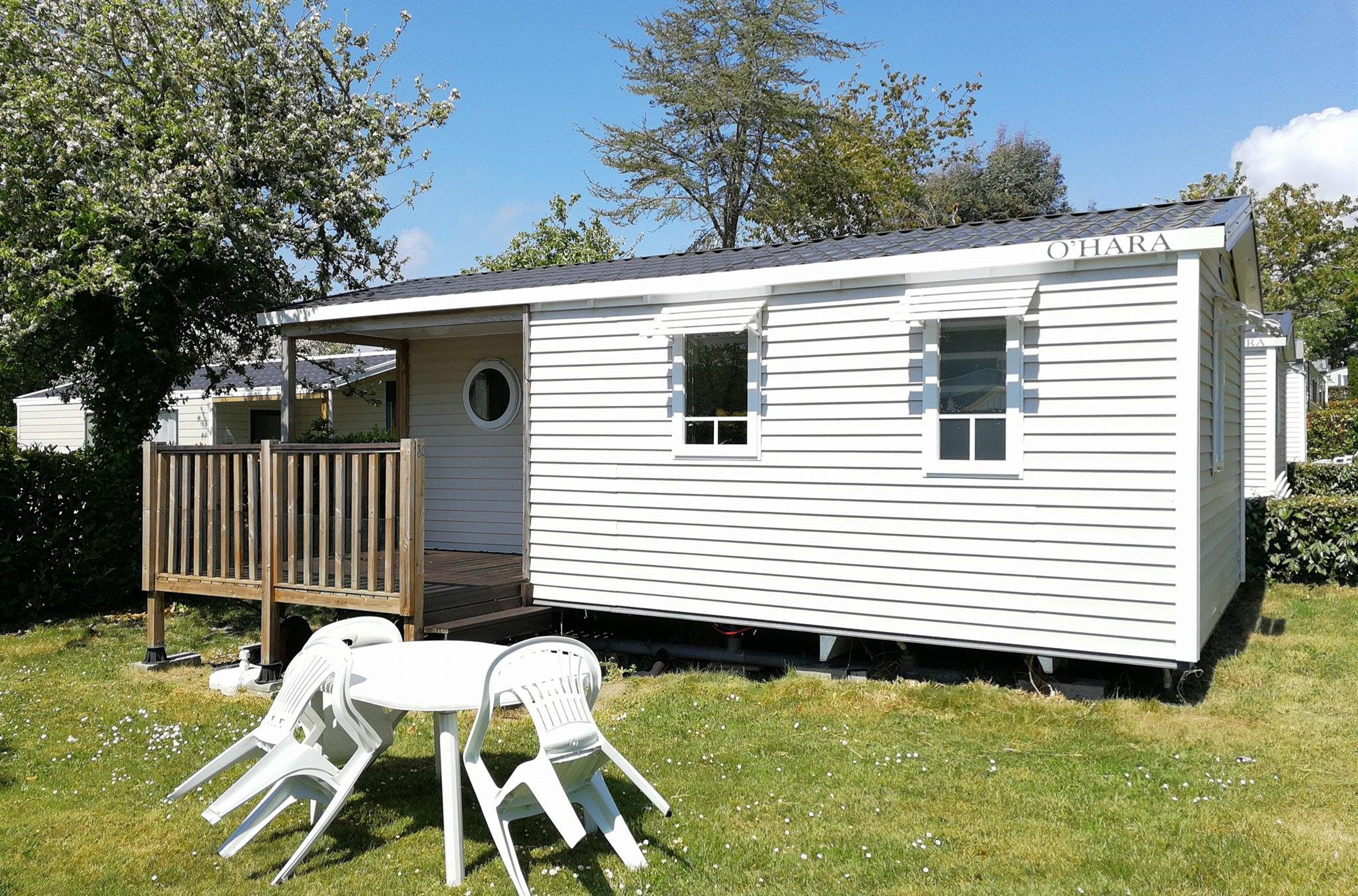 Carte Cezam Location Mobil Home.Mobil Home 4 Personnes 2 Chambres Terrasse Camping Benodet
