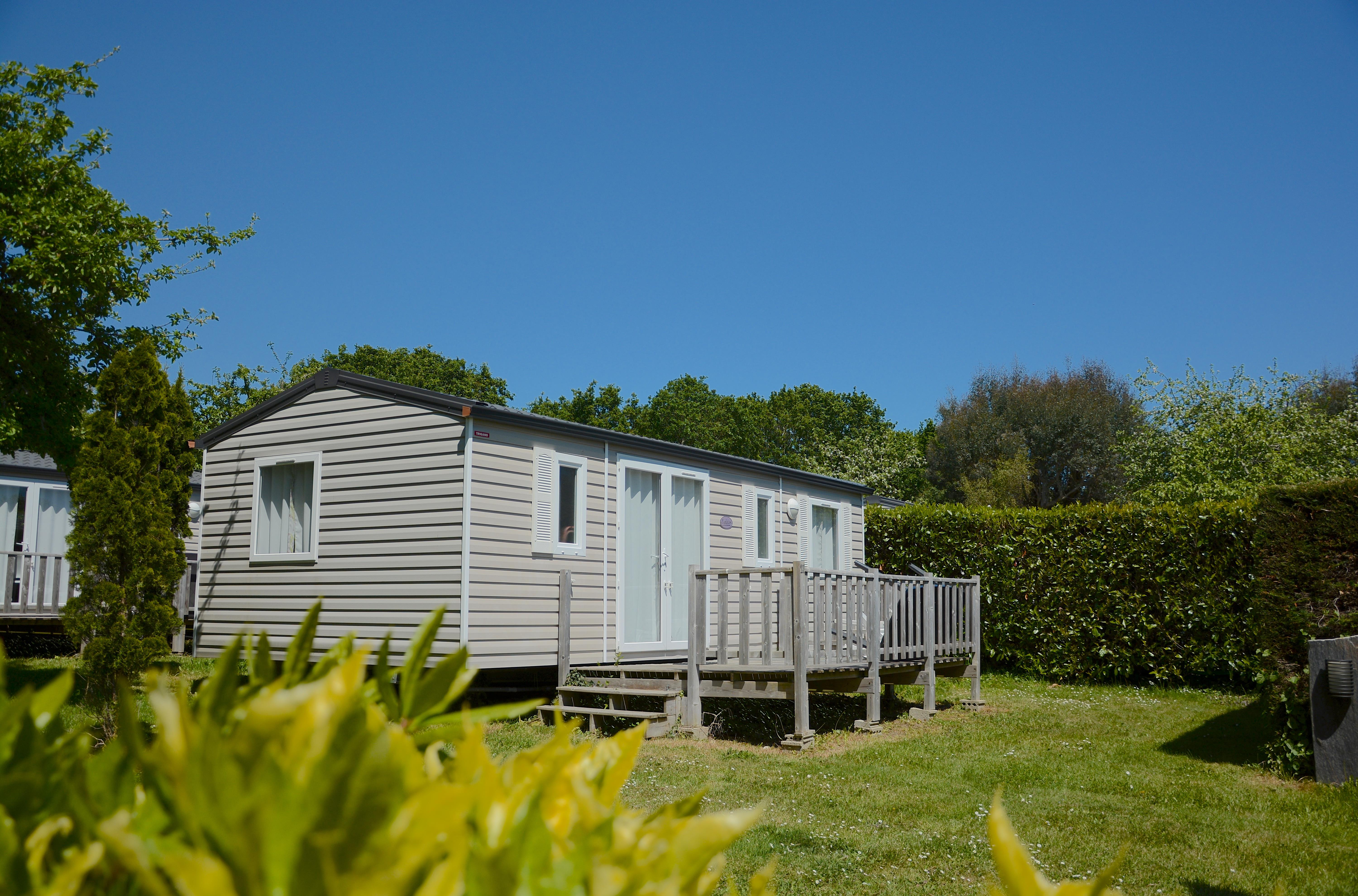 Carte Cezam Location Mobil Home.Mobil Home 6 Personnes 3 Chambres Terrasse Camping Benodet